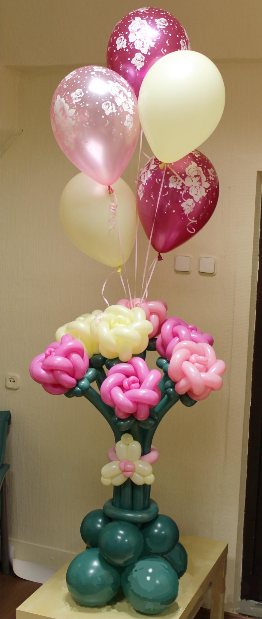 Подарки из воздушных шаров к дню рождения своими руками 40